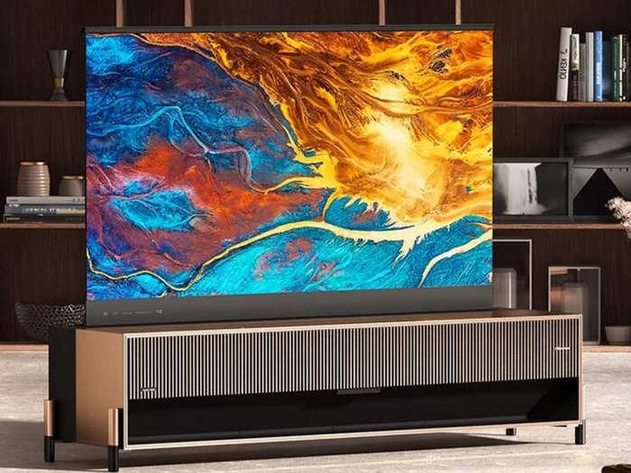 hisense rollable screen tv