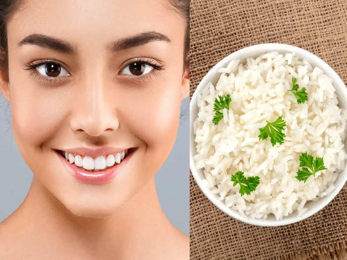 skin care how to use rice face pack for skin whitening in hindi