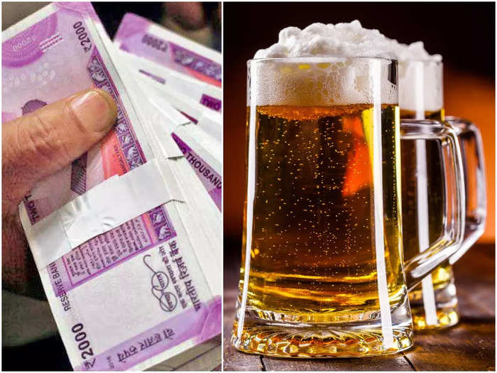 beer and money