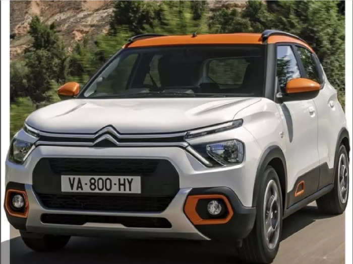 Citroen C3 Compact SUV Unveiled Image Features India