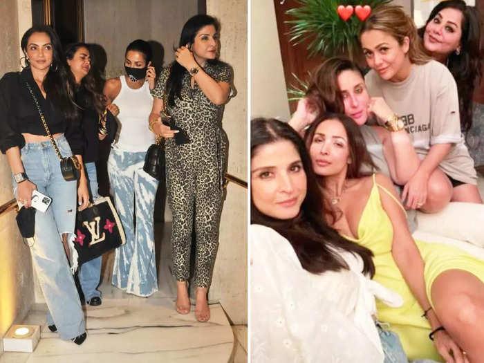 arjun kapoor malaika arora looks more stylish then her aunty maheep kapoor for amrita arora house party