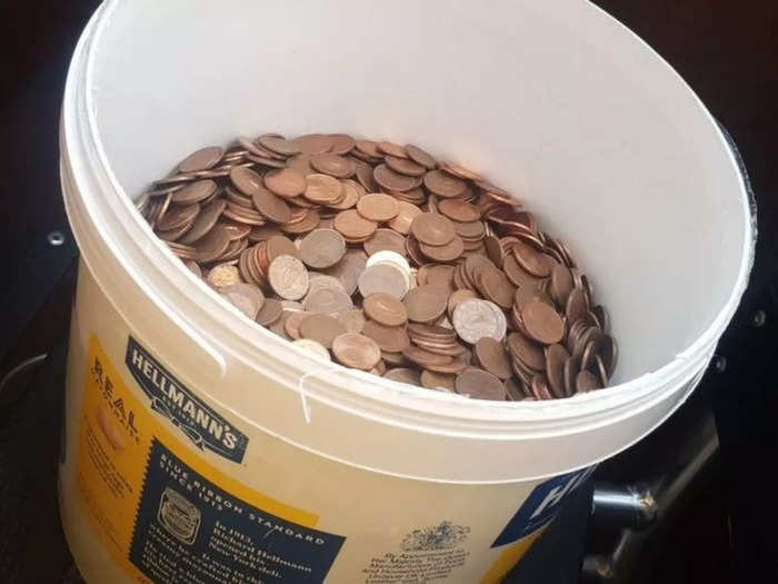 Salary in coins