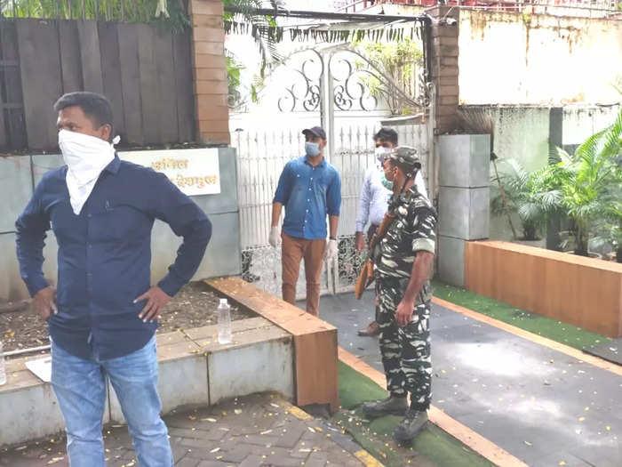 Anil Deshmukhs Nagpur Residence