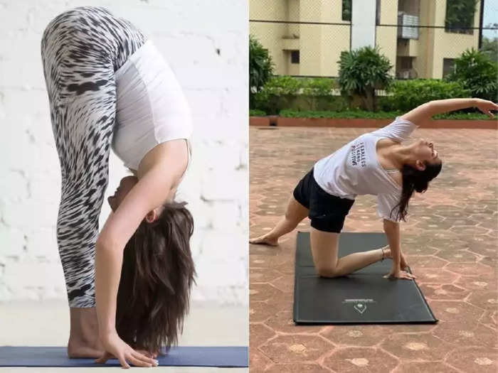 do these simple 5 yoga poses for open the block nerves and improve blood circulation, blood flow