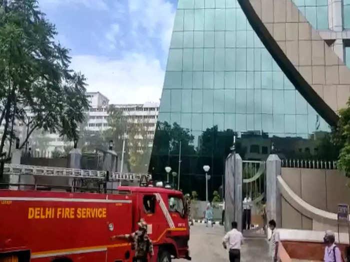Fire in CBI Headquarters Building
