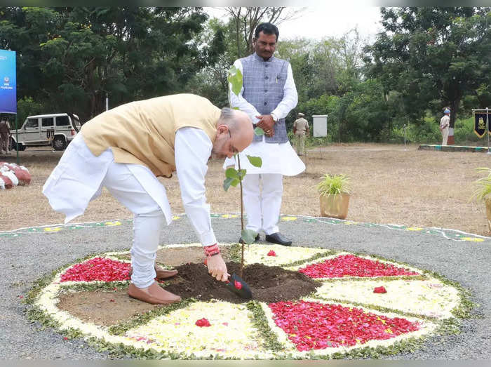 pm modi was first cm to recognise seriousness of climate change he set up ministry for it in gujarat amit shah