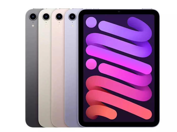 iPad mini 6 Most Affordable 5G Tablet