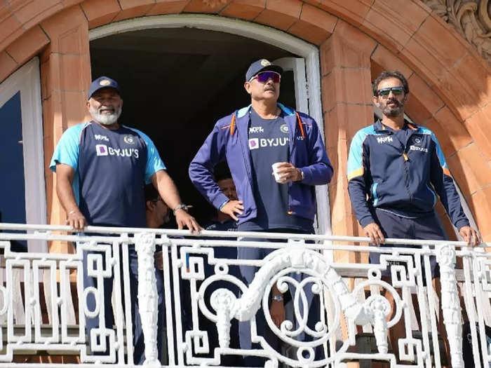 Ravi Shasthri and team 2021