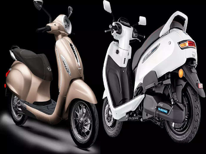 TVS iQube Bajaj Chetak Electric Scooter August Sale