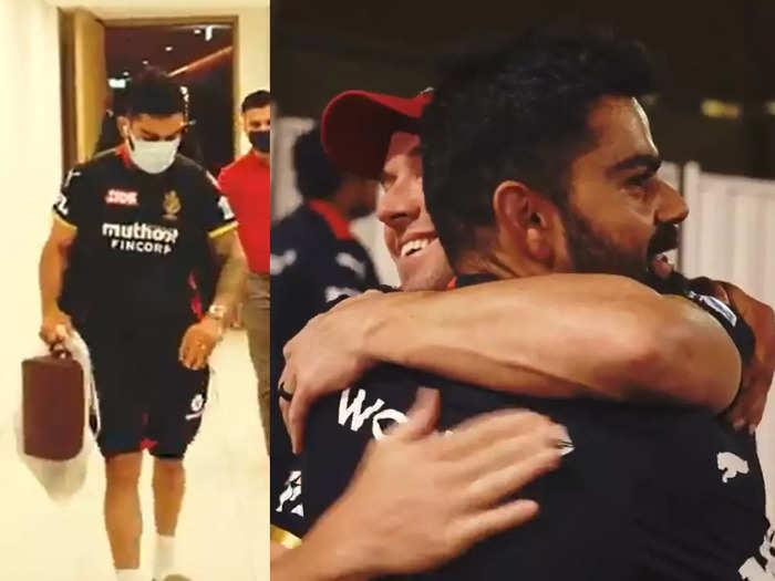 मिशन IPL ट्रोफी: कप्तान विराट कोहली RCB से जुड़े, सुपर स्टार ने यूं मारी मैदान में एंट्री