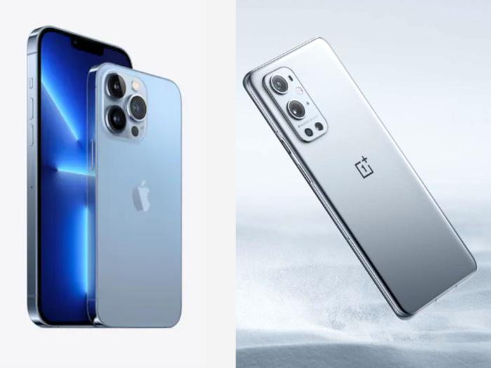 iPhone 13 Series vs OnePlus 9 Series