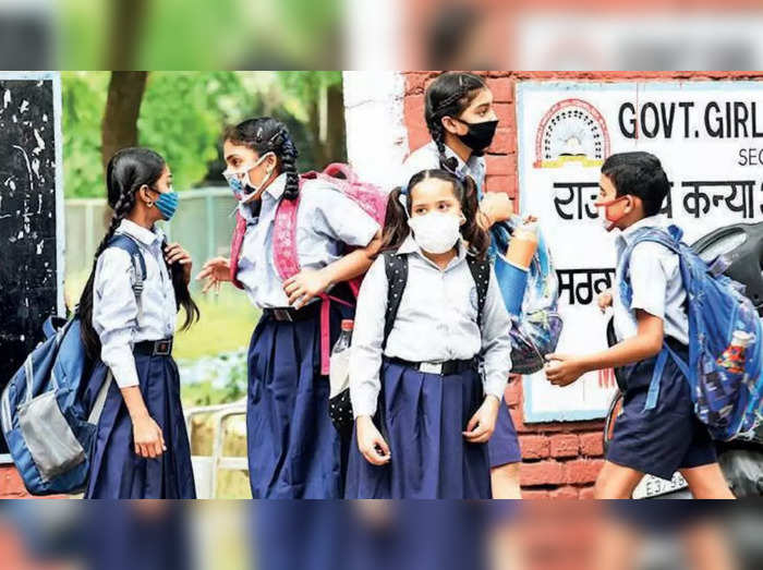 Schools have opened but few students are taking offline classes.