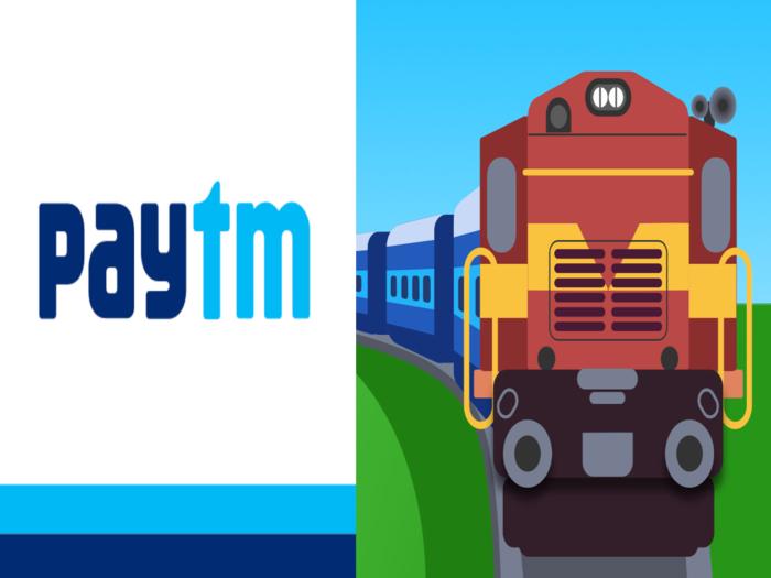 How to book train tickets via Paytm
