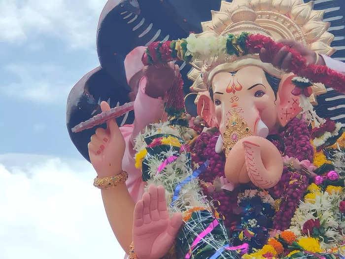 ganpati visarjan: from mumbais lalbaugcha raja immersion