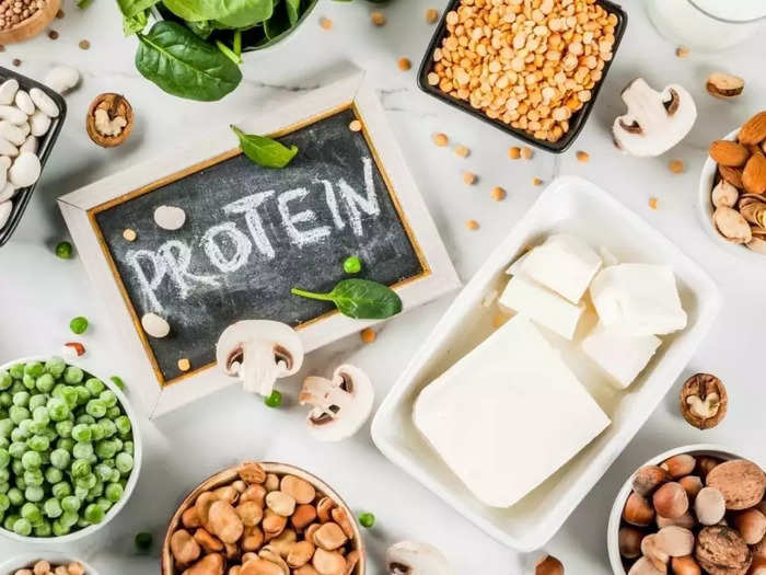 here are 9 foods that contain a high amount of protein per serving for vegan or vegetarian