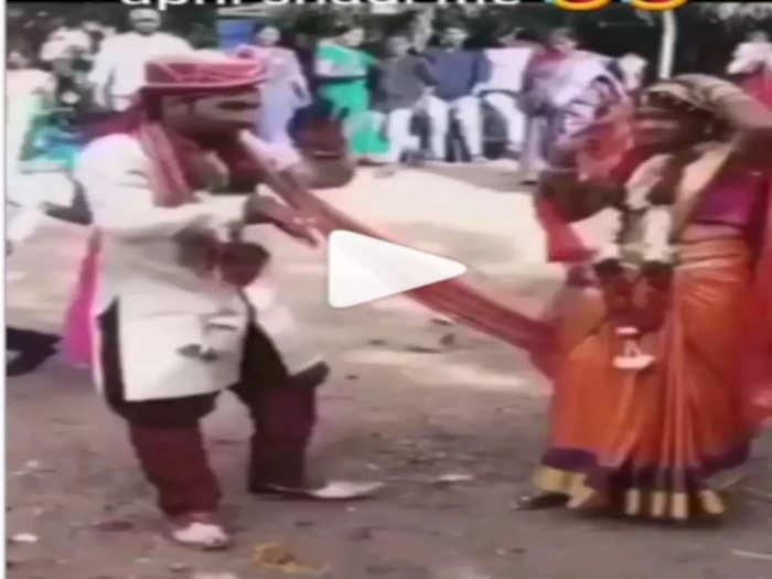 dulha dulhan Viral Video