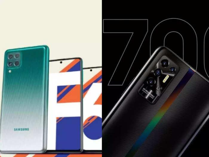 Samsung Tecno Smartphones with 7000mah battery