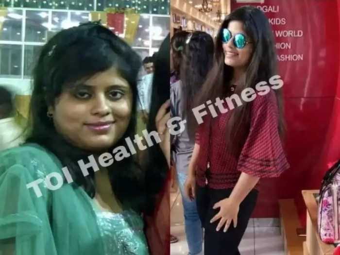 even after eating food cooked in ghee jaipur girl reduced 29 kg weight shares diet plan
