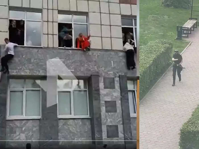 shooter opens fire at uni in Perm