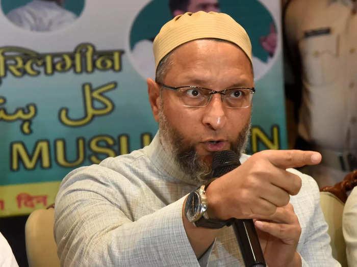 Patna: All India Majlis-e-Ittehadul Muslimeen (AIMIM) President Asaduddin Owaisi...