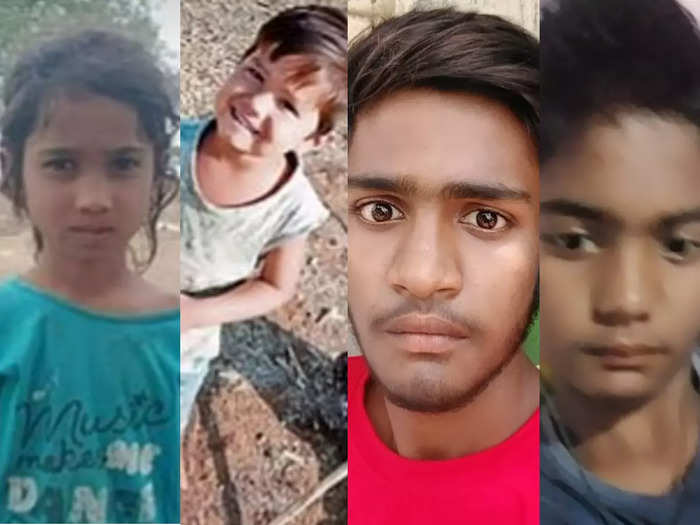four drowned in jalgaon district