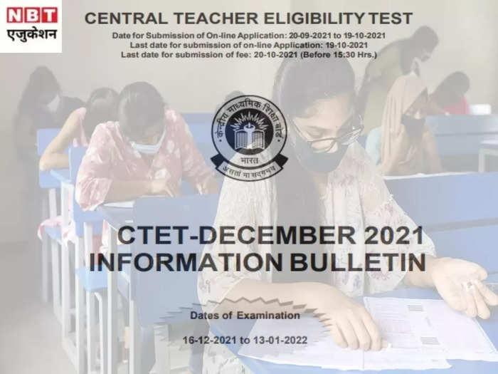 CTET 2021 registration