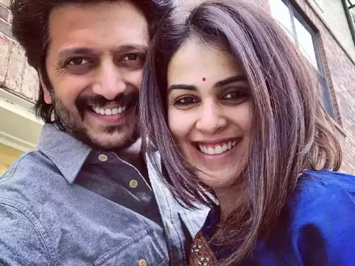 bollywood actor riteish deshmukh funny video with genelia dsouza said he is god for his wife happy married life secrets tips
