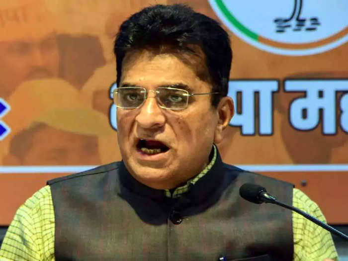 bjp leader kirit somaiya has leveled serious allegations of corruption against the thackeray government and the bmc