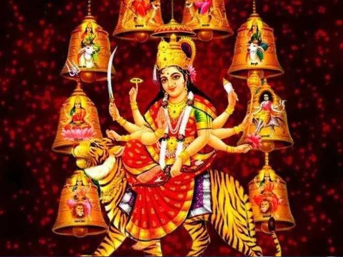 या वर्षी नवरात्रीला देवी पालखीतून येत आहे, जाणून घ्या याचे महत्व