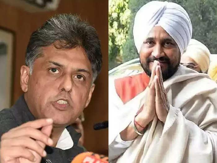 bjp cm is upset with charanjit singh channi, navjot singh sidhu on manish tewaris target what is happening in politics