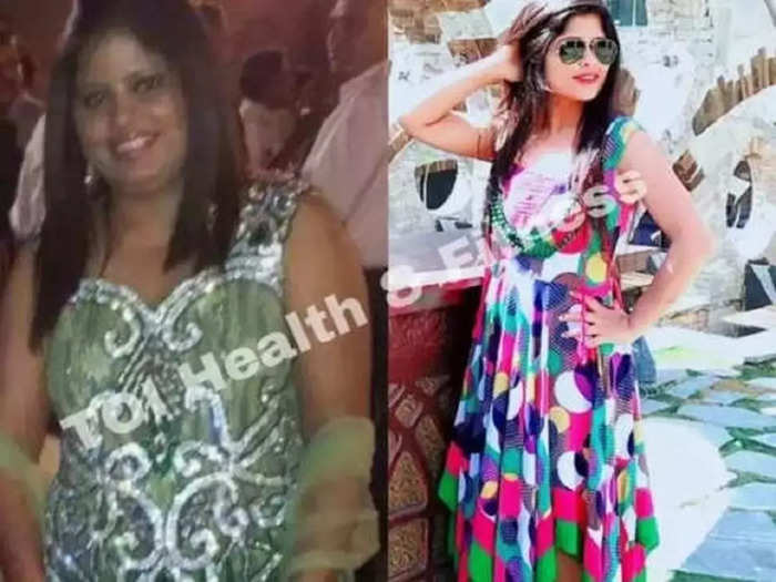 this girl lost 29 kg weight in 6 months by eating food cooked in ghee, know her inspiring weight loss story