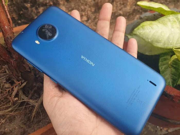Nokia C20 Plus back