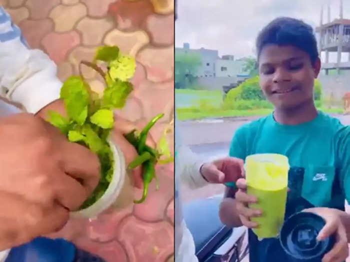 viral video of Vadodara road