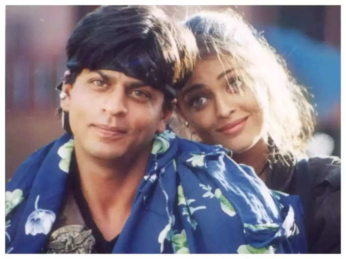 when shah rukh khan replaced aishwarya rai bachchan in his many movies