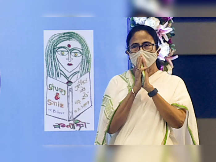 Kolkata: West Bengal Chief Minister Mamata Banerjee during a meeting with differ...
