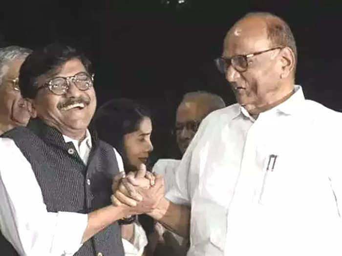 Sanjay Raut- Sharad Pawar