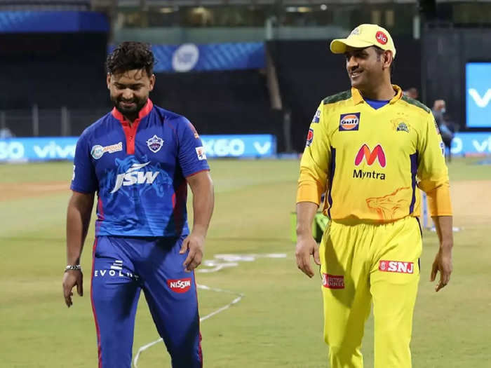 Rishabh Pant and MS Dhoni IPL 2021
