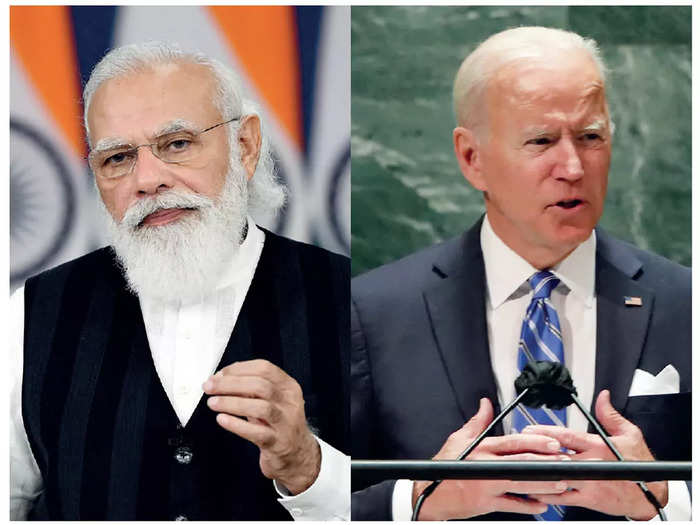 At their bilateral meeting on Friday, Prime Minister Narendra Modi and US president Joe Biden will review the India-US relationship