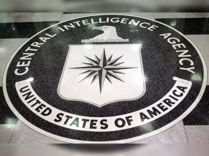 The logo of the U.S. Central Intelligence Agency