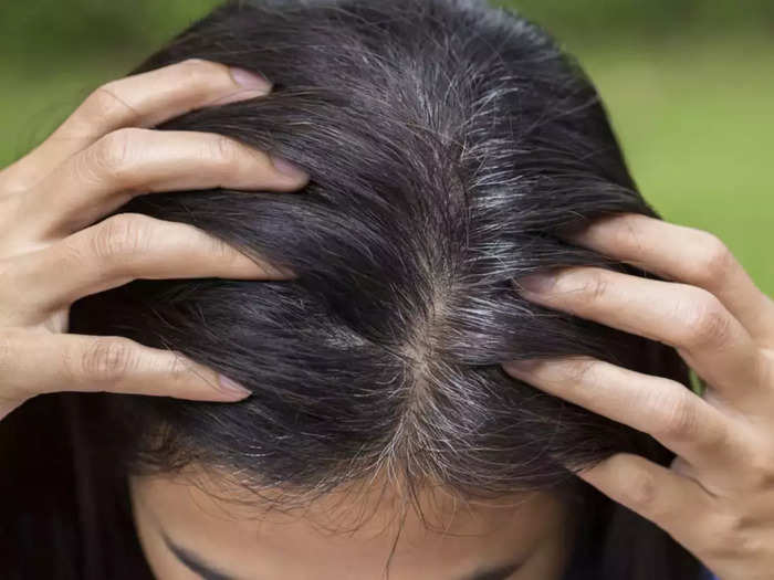 how to stop hair from greying in hindi