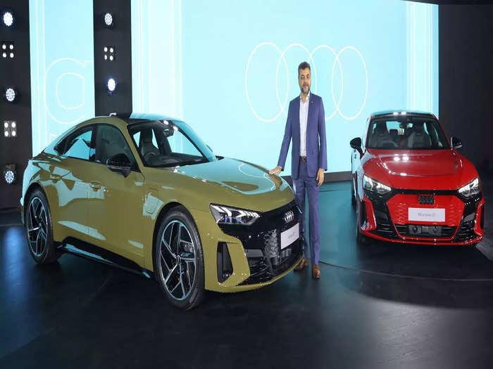 Audi E tron GT Launch Price Features Batttery Range