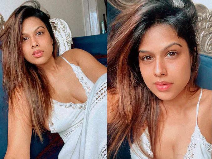 बोल्ड टॉप में निया शर्मा का हॉट लुक वायरल