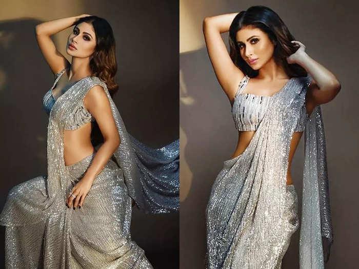 mouni roy shares gorgeous photos in saree her desi girl avatar impresses jubin nautiyal and others