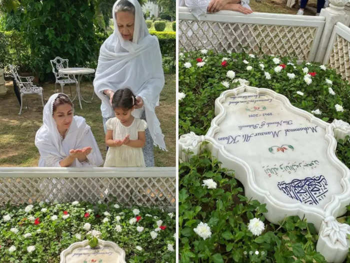 Soha and Saba Pataudi remember father Mansoor Ali Khan