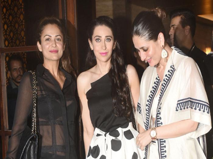 karisma kapoor in animal print top pants looks more stylish than kareena kapoor in mini dress