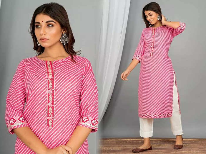 केवल 1028 रुपए में मिल रहे हैं 6 पीस Salwar Kurti Set, ऑफिस पहनकर जाने के लिए भी रहेंगे बेस्ट