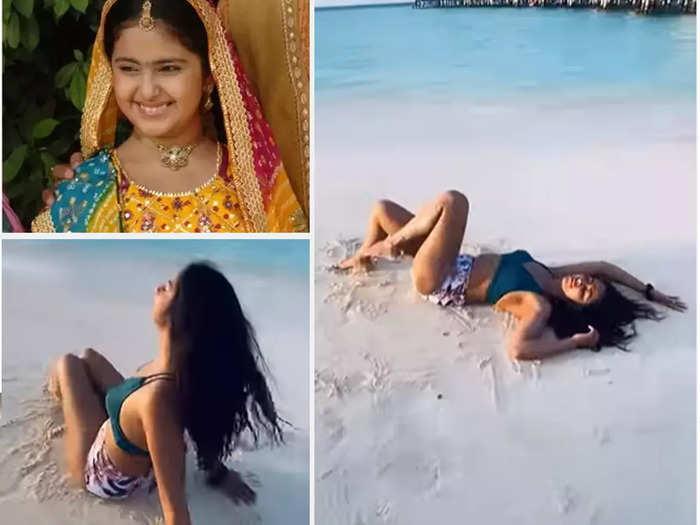 Avika Gor in sexy bikini as she enjoys Maldives vacay