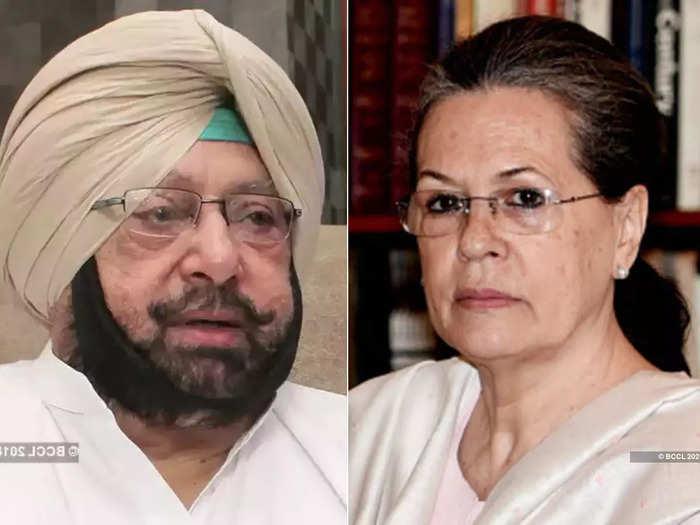 amarinder singh targets congress high command