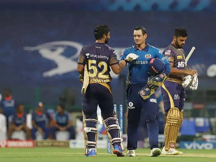 KKR vs MI IPL 2021 34th match