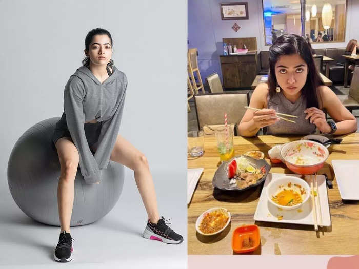 national crush south indian actress rashmika mandanna workout routine diet plan